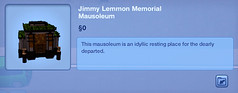 Jimmy Lemmon Memorial Mausoleum