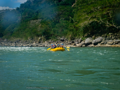 White Water River Rafting - Tabuk - Kalinga, Philippines (104824 - 120123)