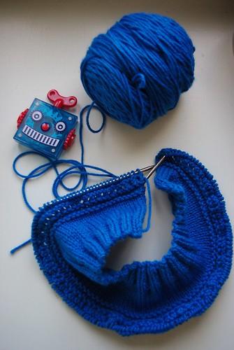 Cookie Monster Cardi
