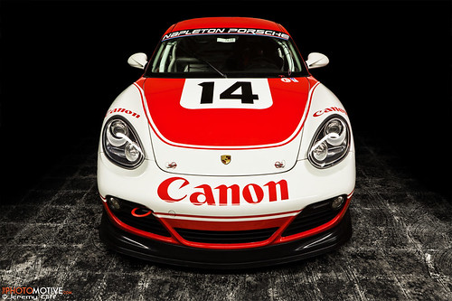 #14 Porsche Cayman Interseries Race Car