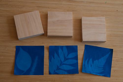 Mounting Photos And Sun Prints On Wood Blocks Diy Del Ray