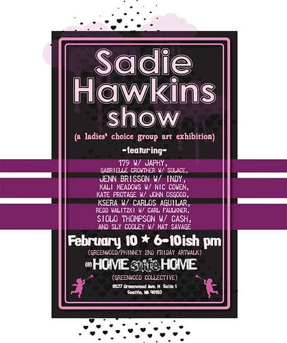 Sadie Hawkins Art Show by OneSevenNine