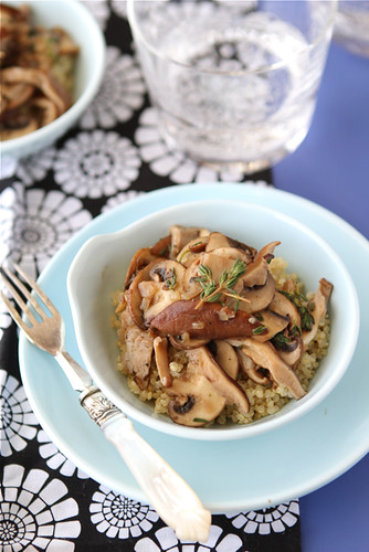 Cookin' Canuck - Sauteed Mushrooms with Marsala Wine & Thyme Recipe