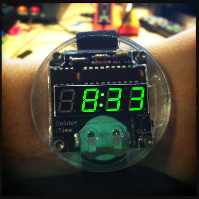 Solder Time aka the geekiest watch ever