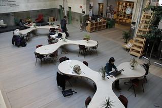 Coworking en Hub Madrid #espaciosdMadrid