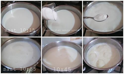 dulce de leche yapım aşamaları 1