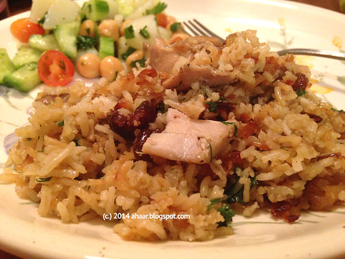 Yottam's cardamom rice with chicken