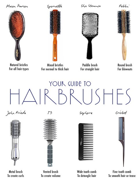 hair brushes guide