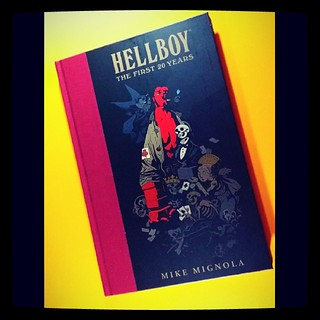 Hellboy: The First 20 Years #geekshavethemostfun  #hellboy #mikemignola