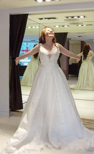 豐腴女孩也能挑到漂亮婚紗22