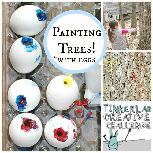 Tinkerlab Challenge: Painting Trees