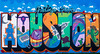 Greetings from Houston by Daniel Anguilu | Houston Texas Graffiti 2014-001 by i-seen-it RubenS