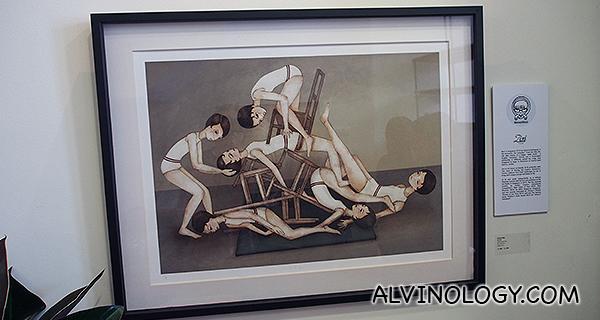 More acrobats