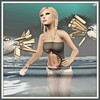 Shark swimsuit FREE ! (comes with all appliers & two tones)