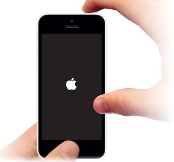 iphone 再起動・ボタン同時押し