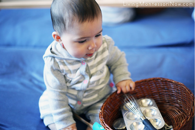 Kitchen Treasure Basket for Babies