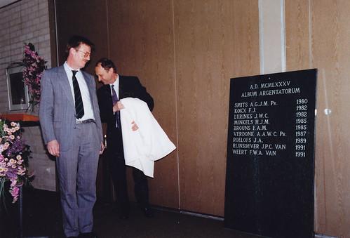 25-jarig jubileum F. van Weert