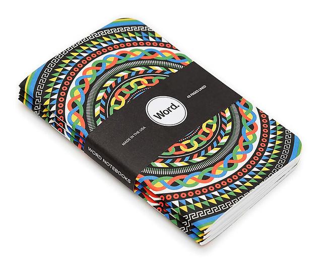 Word Notebooks.