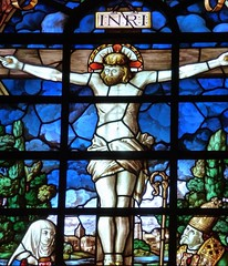 Cambridge - Pembroke College, Chapel - Stained Glass.