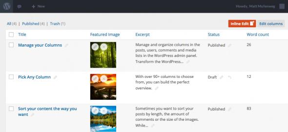 Admin Columns Pro v3.8.6.1 - WordPress Plugin