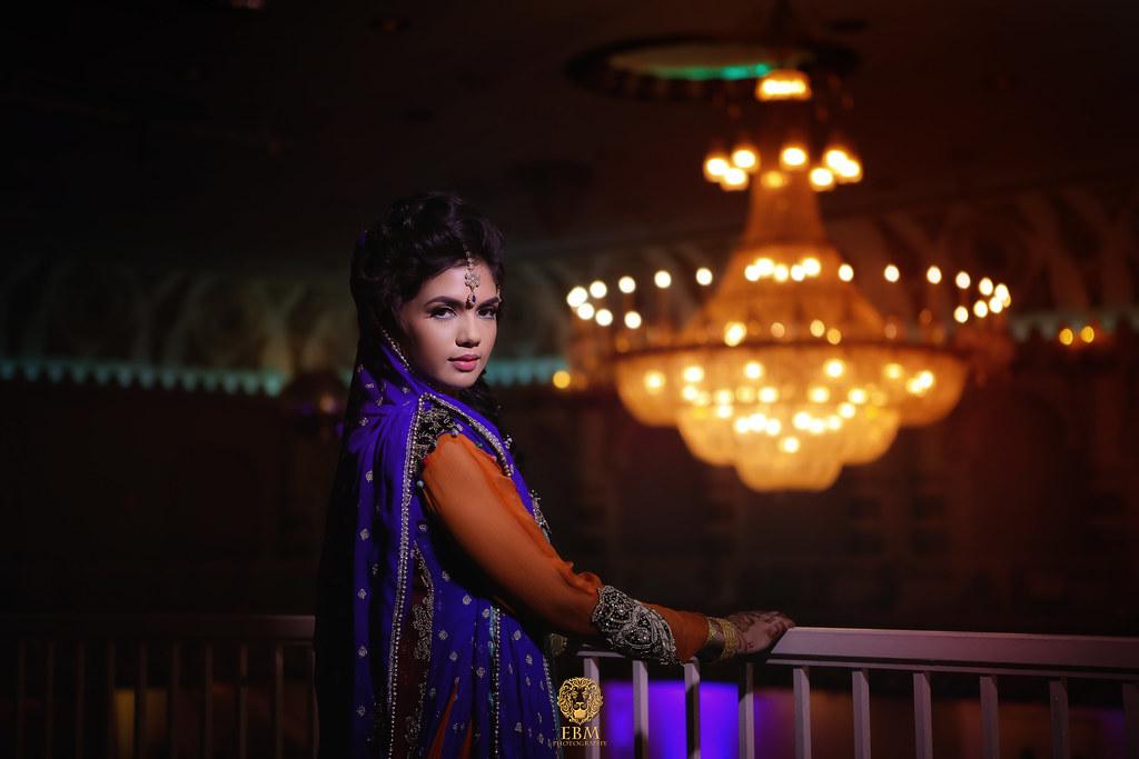 Rohma & Waqas Mehndi by EBM Studios