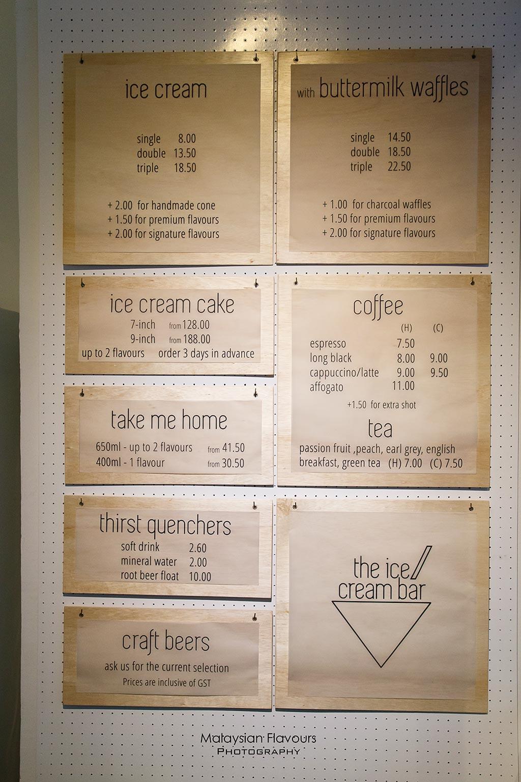 The Ice Cream Bar Desa Sri Hartamas KL