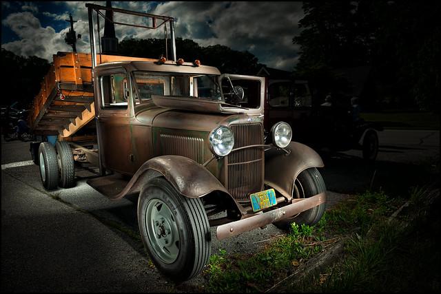1930 Ford Dump Truck (Fletcher United Methodist Church Fundraiser Car Show)