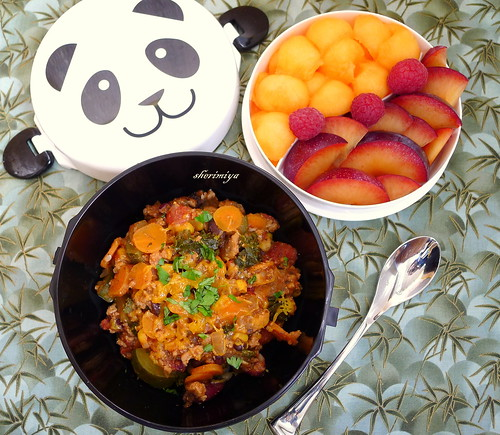 Chili Rice Bowl Bento by sherimiya ♥