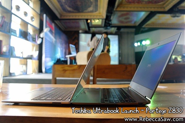 Toshiba Ultrabook - Portege Z830-11