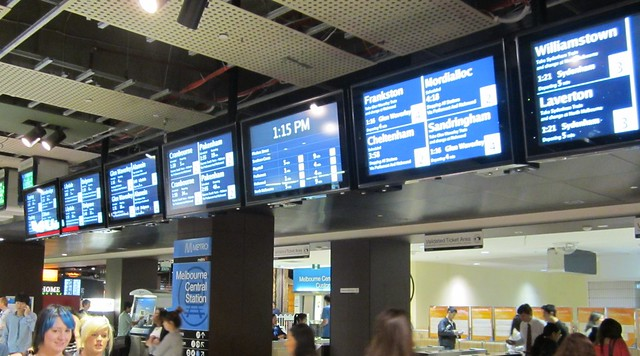 New screens at Melbourne Central
