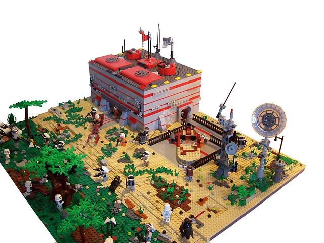 lego star wars rebel outpost on alderaan flickr photo sharing. Black Bedroom Furniture Sets. Home Design Ideas