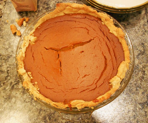 Thanksgiving 2011 - Pumpkin Pie