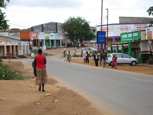 Mzuzu Malawi Road Africa by Danalynn C