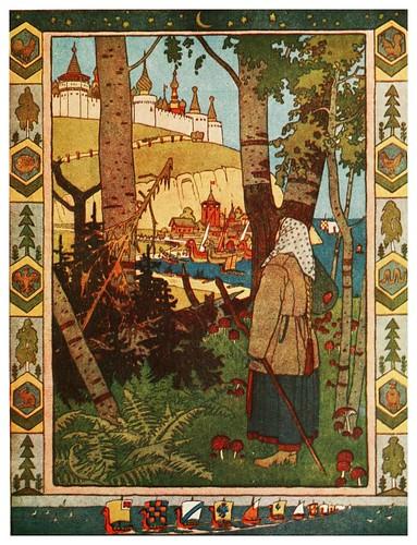 008-La mejor pluma del halcon-Russian-wonder tales ..1912-Ivan Jakovlevich Bilibin