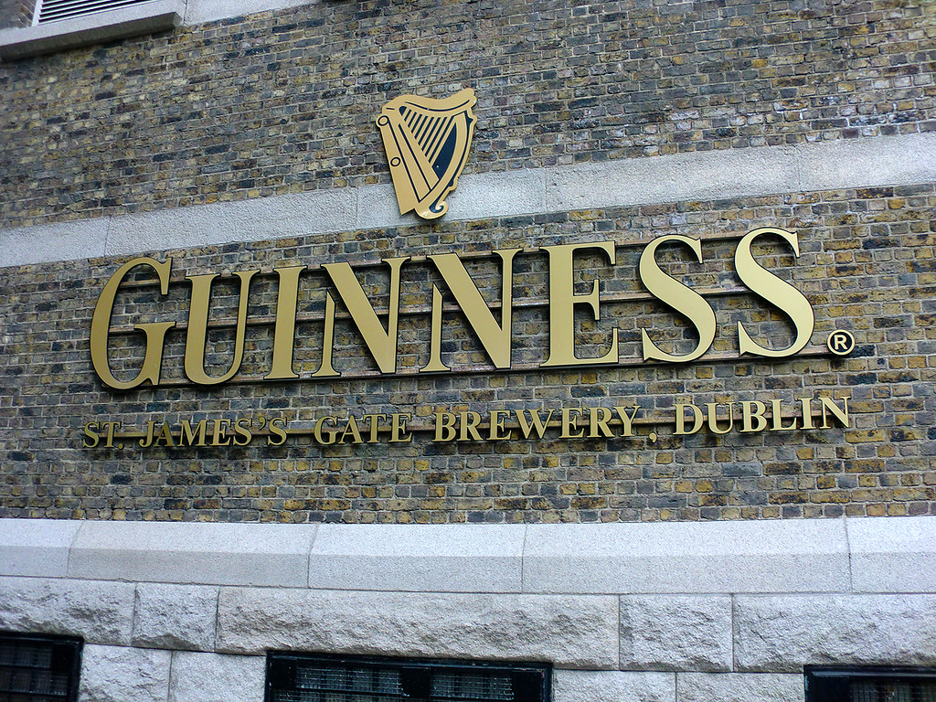 Guinness St.James Gate Brewery - Dublin, Ireland.