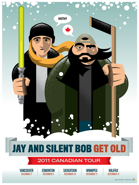 Jay and Silent Bob Get Old: Canadian Tour poster