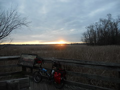 Bike Commute 135: Little Nellie Greets the Dawn by Rootchopper