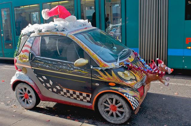 Reindeer Races Streetcar