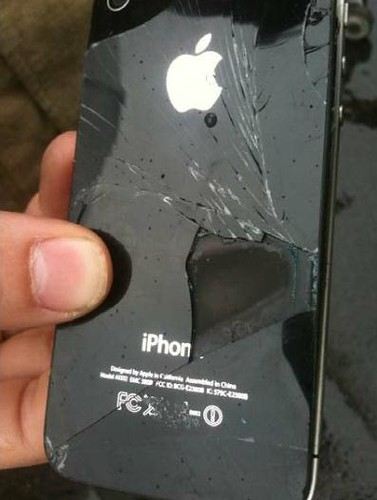 iPhone 4 Self-Combusted