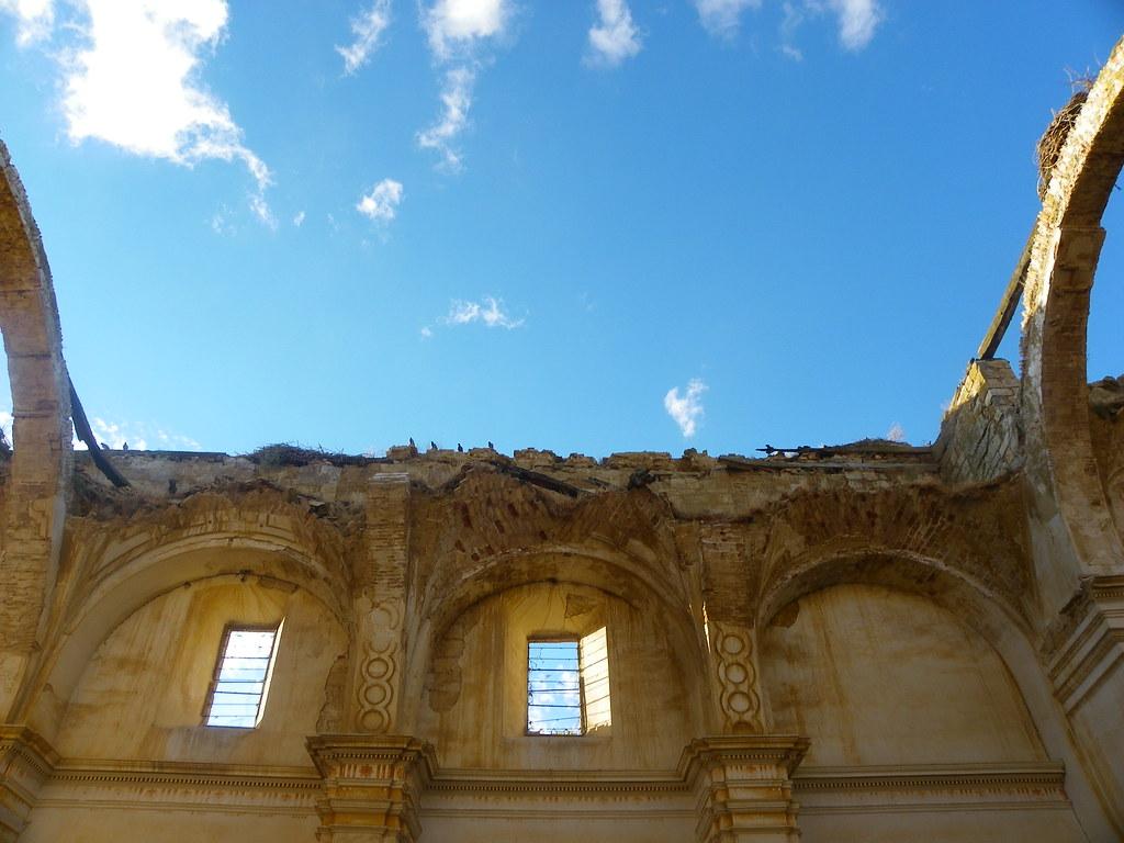 Ruinas de de San Pedro en Becerril. Fuente