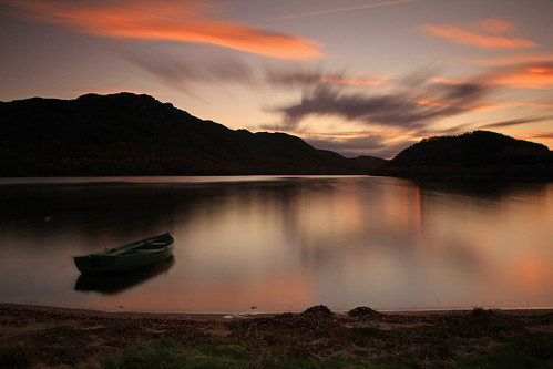 Loch Ruthven Sunset.