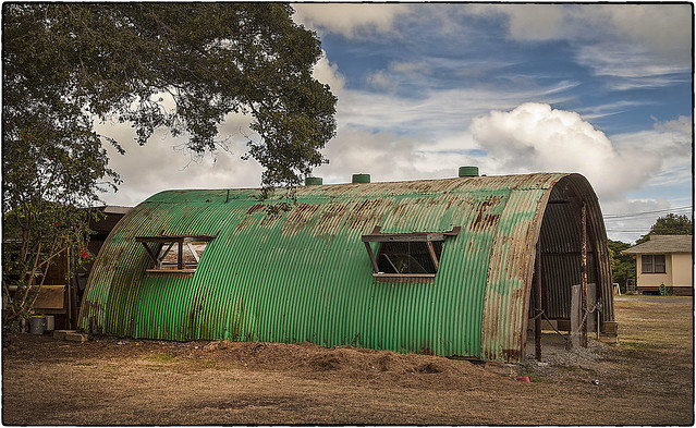 Green Quonset Hut, Waimanalo
