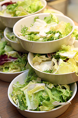 Poilâne green salads