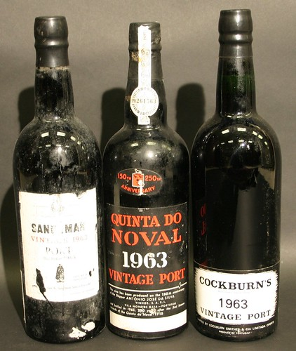 Bottles of port