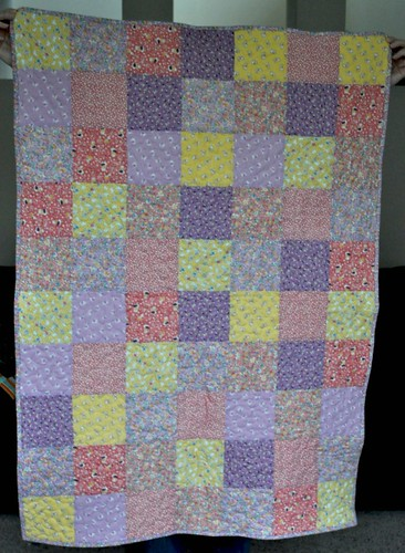 finished charity quilt