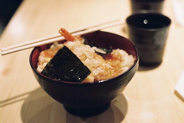 Best rice & tempura