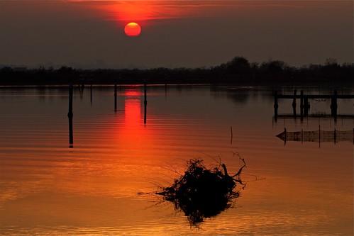 tramonto stasera.... this evening... by margit-luitpold2005