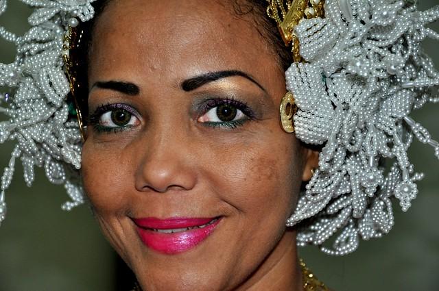 Mujer Panameña . _1615