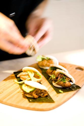 the bao sampler (returning to the menu soon) by TAKE A BAO