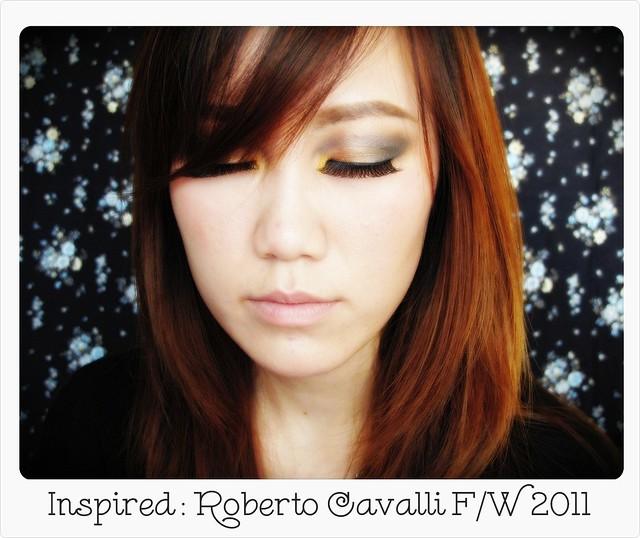 Roberto Cavalli FW2011 inspired makeup
